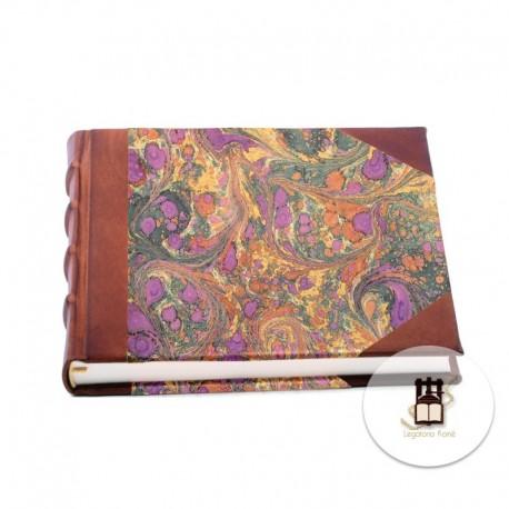 Quaderno medio pelle/carta