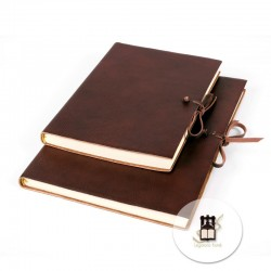 Large journals Medioevalis double tie