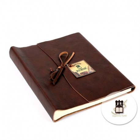 Wrap leather photo album