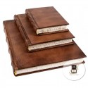 Old style leather journals