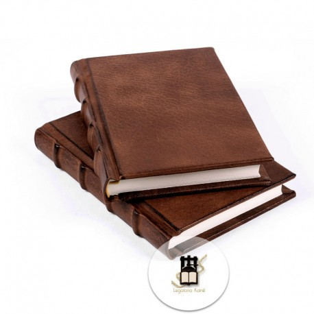 Quaderno classico pelle